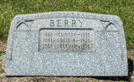 M BERRY, ADDIE - Richland County, Ohio | ADDIE M BERRY - Ohio Gravestone Photos