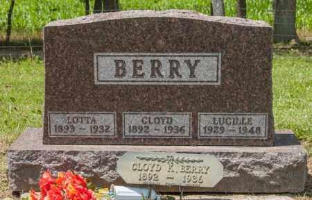 BERRY, CLOYD - Richland County, Ohio | CLOYD BERRY - Ohio Gravestone Photos