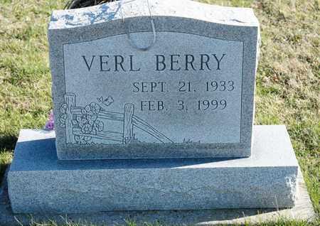 BERRY, VERL - Richland County, Ohio | VERL BERRY - Ohio Gravestone Photos