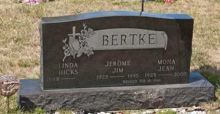 BERTKE, JEROME JIM - Richland County, Ohio | JEROME JIM BERTKE - Ohio Gravestone Photos