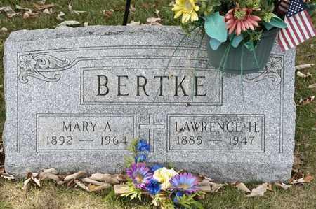 BERTKE, LAWRENCE H - Richland County, Ohio | LAWRENCE H BERTKE - Ohio Gravestone Photos