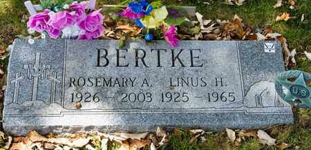BERTKE, ROSEMARY A - Richland County, Ohio | ROSEMARY A BERTKE - Ohio Gravestone Photos