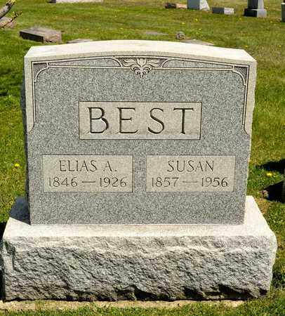 BEST, ELIAS A - Richland County, Ohio | ELIAS A BEST - Ohio Gravestone Photos