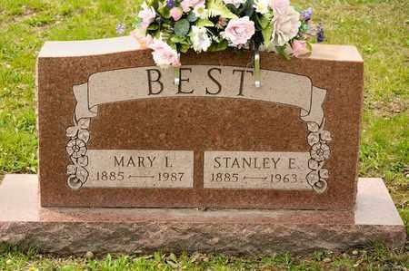 BEST, MARY I - Richland County, Ohio   MARY I BEST - Ohio Gravestone Photos