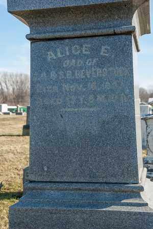 BEVERSTOCK, ALICE E - Richland County, Ohio | ALICE E BEVERSTOCK - Ohio Gravestone Photos
