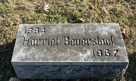 BEVERSTOCK, HARRIET - Richland County, Ohio | HARRIET BEVERSTOCK - Ohio Gravestone Photos