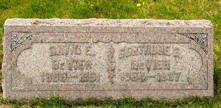 BEVIER, DAVID E - Richland County, Ohio   DAVID E BEVIER - Ohio Gravestone Photos