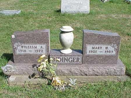 BIDINGER, MARY H. - Richland County, Ohio   MARY H. BIDINGER - Ohio Gravestone Photos