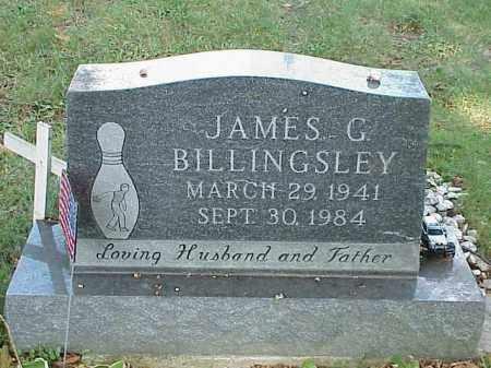 BILLINGSLEY, JAMES G. - Richland County, Ohio | JAMES G. BILLINGSLEY - Ohio Gravestone Photos