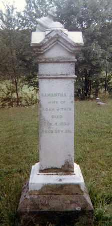 BAKER BITNER, SAMANTHA J. - Richland County, Ohio | SAMANTHA J. BAKER BITNER - Ohio Gravestone Photos