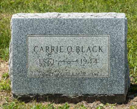 BLACK, CARRIE ORRVILLE - Richland County, Ohio   CARRIE ORRVILLE BLACK - Ohio Gravestone Photos