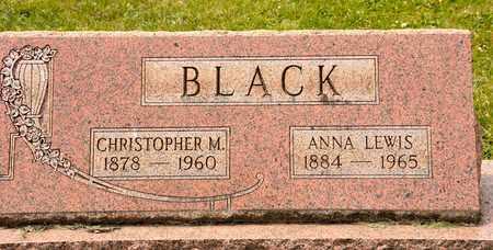 LEWIS BLACK, ANNA - Richland County, Ohio | ANNA LEWIS BLACK - Ohio Gravestone Photos