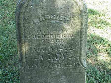 BLACK, MARGRET - Richland County, Ohio   MARGRET BLACK - Ohio Gravestone Photos