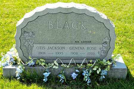 GRAHAM BLACK, GENEVA ROSE - Richland County, Ohio | GENEVA ROSE GRAHAM BLACK - Ohio Gravestone Photos
