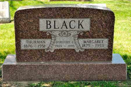 BLACK, MARGARET - Richland County, Ohio | MARGARET BLACK - Ohio Gravestone Photos
