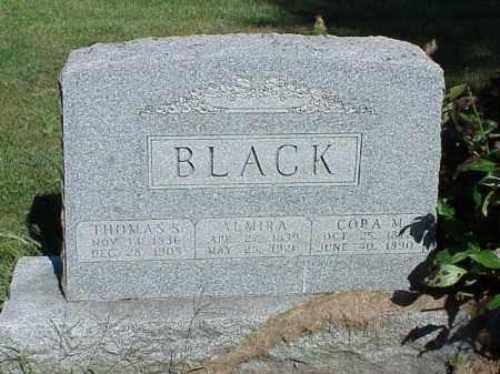 BLACK, ALMIRA - Richland County, Ohio   ALMIRA BLACK - Ohio Gravestone Photos