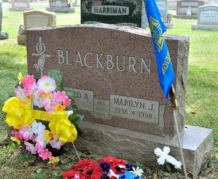 BLACKBURN, MARILYN J - Richland County, Ohio | MARILYN J BLACKBURN - Ohio Gravestone Photos