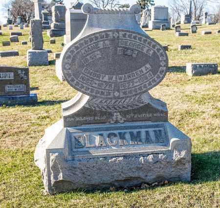 BLACKMAN, WARREN A - Richland County, Ohio | WARREN A BLACKMAN - Ohio Gravestone Photos