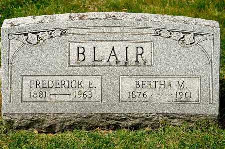 BLAIR, BERTHA M - Richland County, Ohio | BERTHA M BLAIR - Ohio Gravestone Photos