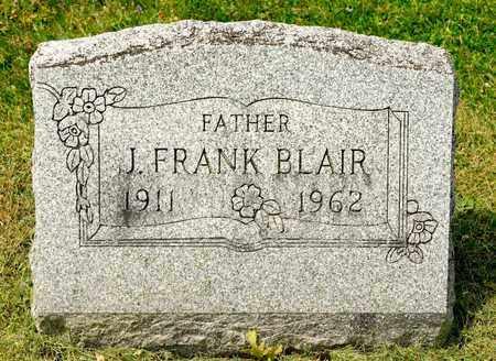 BLAIR, J FRANK - Richland County, Ohio | J FRANK BLAIR - Ohio Gravestone Photos
