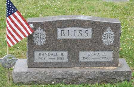 BLISS, RANDALL B - Richland County, Ohio | RANDALL B BLISS - Ohio Gravestone Photos
