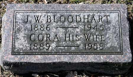 BLOODHART, CORA - Richland County, Ohio | CORA BLOODHART - Ohio Gravestone Photos