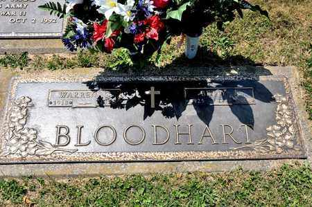 BLOODHART, WARREN C - Richland County, Ohio | WARREN C BLOODHART - Ohio Gravestone Photos