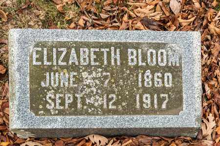 BLOOM, ELIZABETH - Richland County, Ohio | ELIZABETH BLOOM - Ohio Gravestone Photos