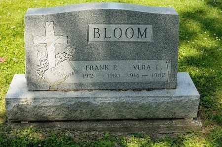 BLOOM, FRANK P - Richland County, Ohio   FRANK P BLOOM - Ohio Gravestone Photos