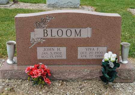 BLOOM, VIVA F - Richland County, Ohio | VIVA F BLOOM - Ohio Gravestone Photos