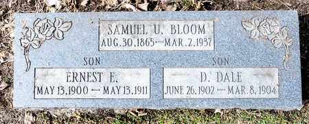 BLOOM, D DALE - Richland County, Ohio | D DALE BLOOM - Ohio Gravestone Photos