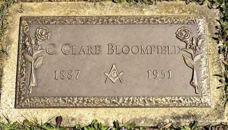 BLOOMFIELD, C CLARE - Richland County, Ohio | C CLARE BLOOMFIELD - Ohio Gravestone Photos