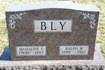 BLY, MADALINE F - Richland County, Ohio | MADALINE F BLY - Ohio Gravestone Photos