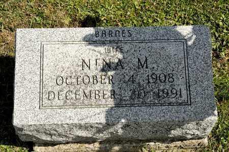 BARNES BLY, NINA - Richland County, Ohio | NINA BARNES BLY - Ohio Gravestone Photos