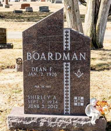 BOARDMAN, SHIRLEY A - Richland County, Ohio | SHIRLEY A BOARDMAN - Ohio Gravestone Photos