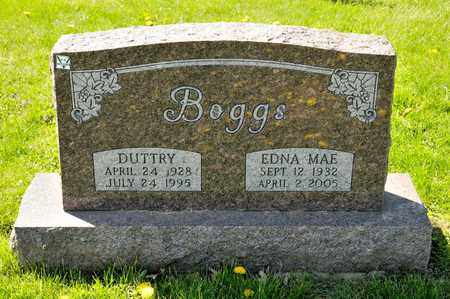 BOGGS, DUTTRY - Richland County, Ohio | DUTTRY BOGGS - Ohio Gravestone Photos