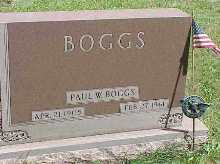 BOGGS, PAUL W. - Richland County, Ohio | PAUL W. BOGGS - Ohio Gravestone Photos