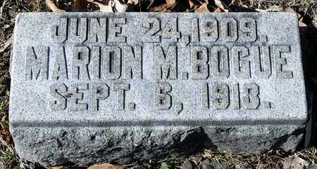 BOGUE, MARION M - Richland County, Ohio | MARION M BOGUE - Ohio Gravestone Photos