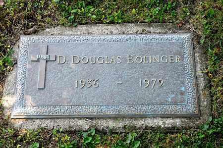 BOLINGER, D DOUGLAS - Richland County, Ohio | D DOUGLAS BOLINGER - Ohio Gravestone Photos