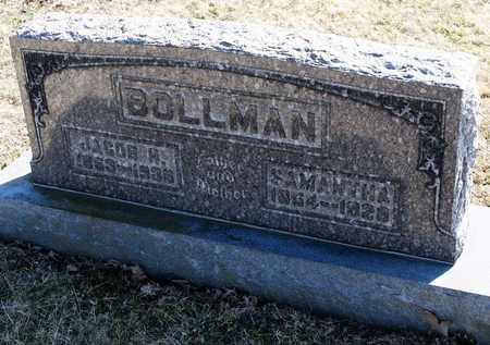 BOLLMAN, SAMANTHA - Richland County, Ohio | SAMANTHA BOLLMAN - Ohio Gravestone Photos