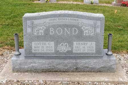 BOND, HENRY J - Richland County, Ohio | HENRY J BOND - Ohio Gravestone Photos