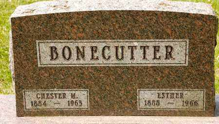 BONECUTTER, CHESTER M - Richland County, Ohio   CHESTER M BONECUTTER - Ohio Gravestone Photos