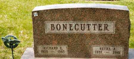BONECUTTER, RICHARD E - Richland County, Ohio   RICHARD E BONECUTTER - Ohio Gravestone Photos