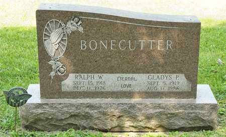 BONECUTTER, RALPH W - Richland County, Ohio | RALPH W BONECUTTER - Ohio Gravestone Photos