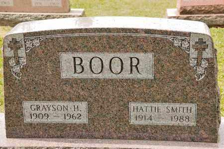 BOOR, GRAYSON H - Richland County, Ohio | GRAYSON H BOOR - Ohio Gravestone Photos