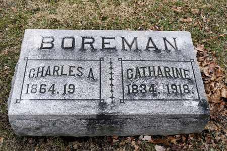 BOREMAN, CATHARINE - Richland County, Ohio   CATHARINE BOREMAN - Ohio Gravestone Photos