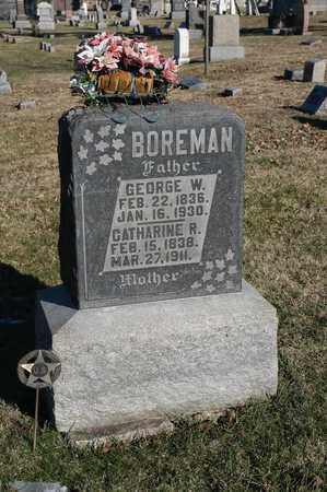BOREMAN, CATHARINE R - Richland County, Ohio | CATHARINE R BOREMAN - Ohio Gravestone Photos