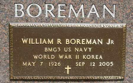 BOREMAN JR, WILLIAM R - Richland County, Ohio | WILLIAM R BOREMAN JR - Ohio Gravestone Photos