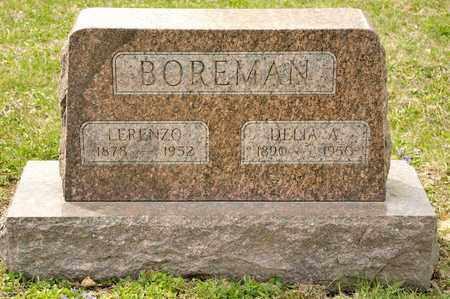 BOREMAN, DELIA A - Richland County, Ohio | DELIA A BOREMAN - Ohio Gravestone Photos