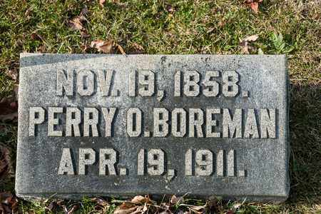BOREMAN, PERRY O - Richland County, Ohio   PERRY O BOREMAN - Ohio Gravestone Photos